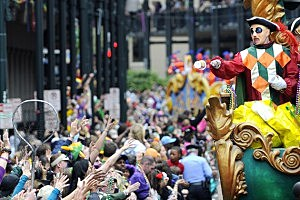 Win a trip to Mardi Gras