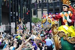 Win a trip to Mardi Gras