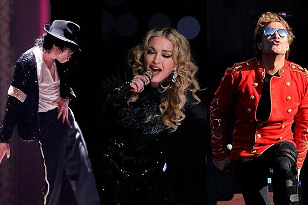 Michael, Madonna, Bon Jovi