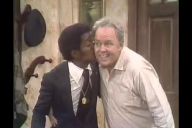 Archie with Sammy Davis Jr.