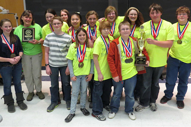 Medomak Middle School Science Olympiad Team