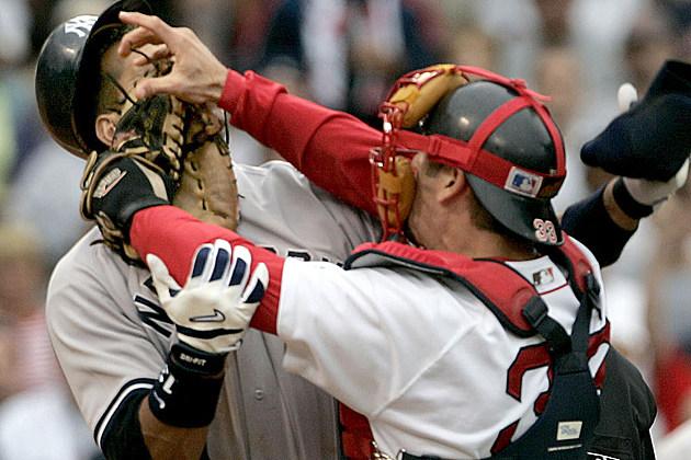 Jason varitek, Alex Rodrigues, Basebrawl, Red Sox Yankees