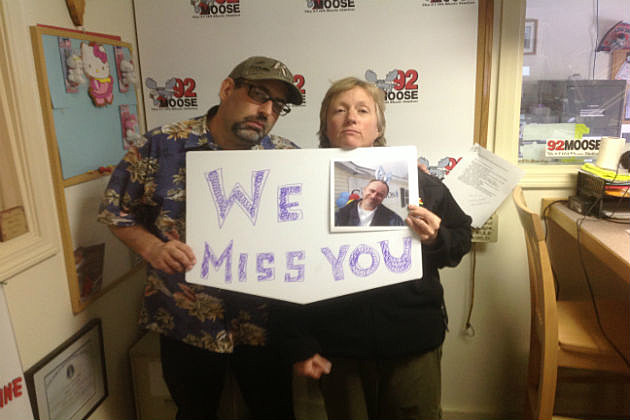 92 Moose's Renee Nelson and Jon James want Mac Dickson to get well soon