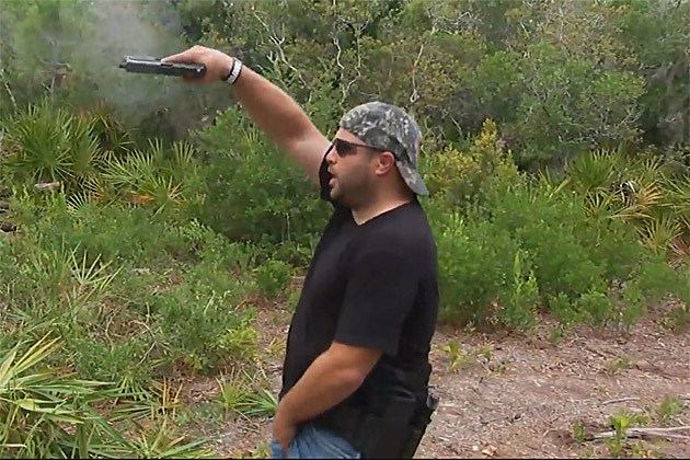 Not how to grip a gun