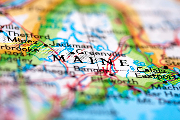 Maine on the Map