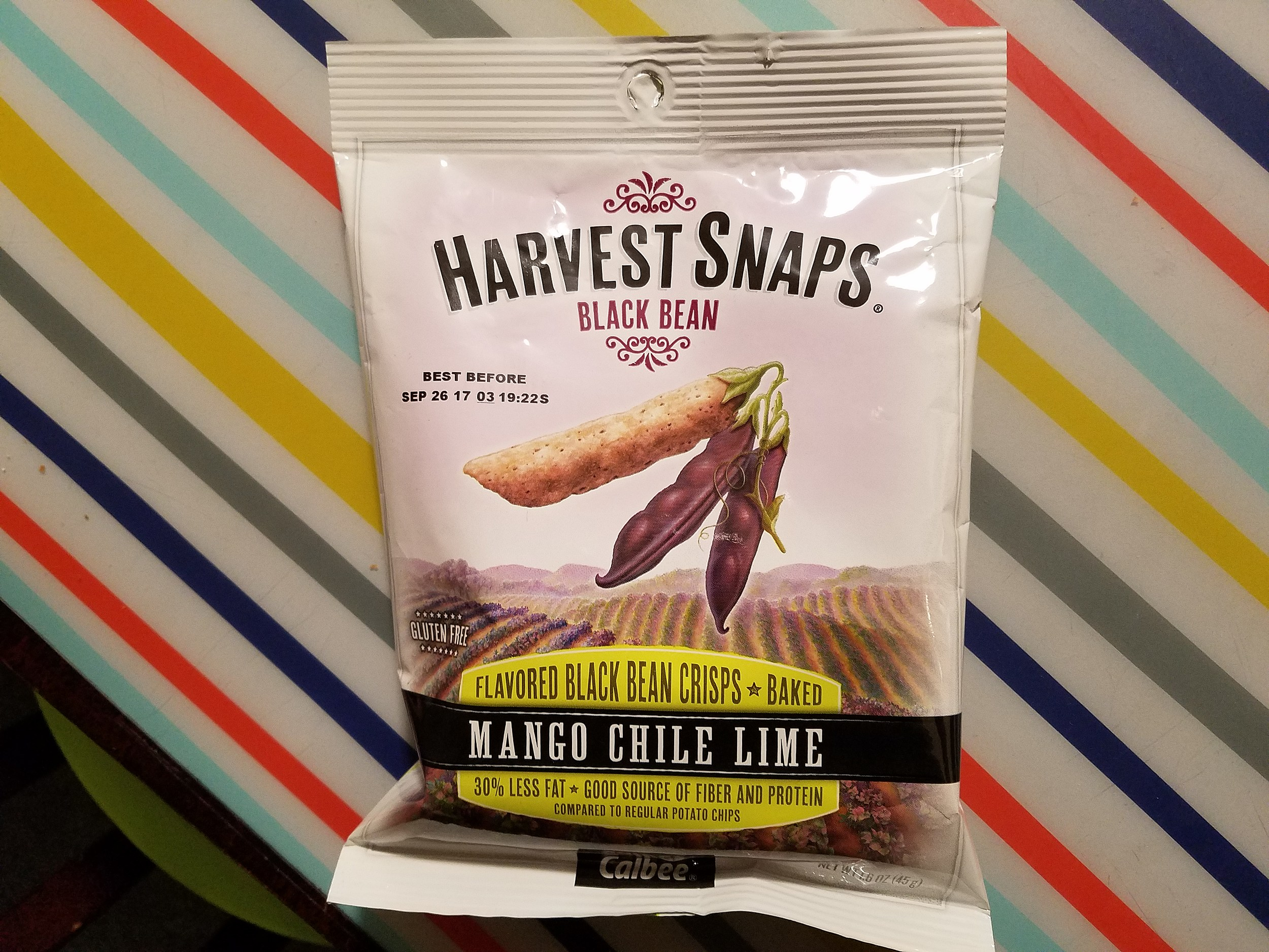 Mango Chili Harvest Snaps