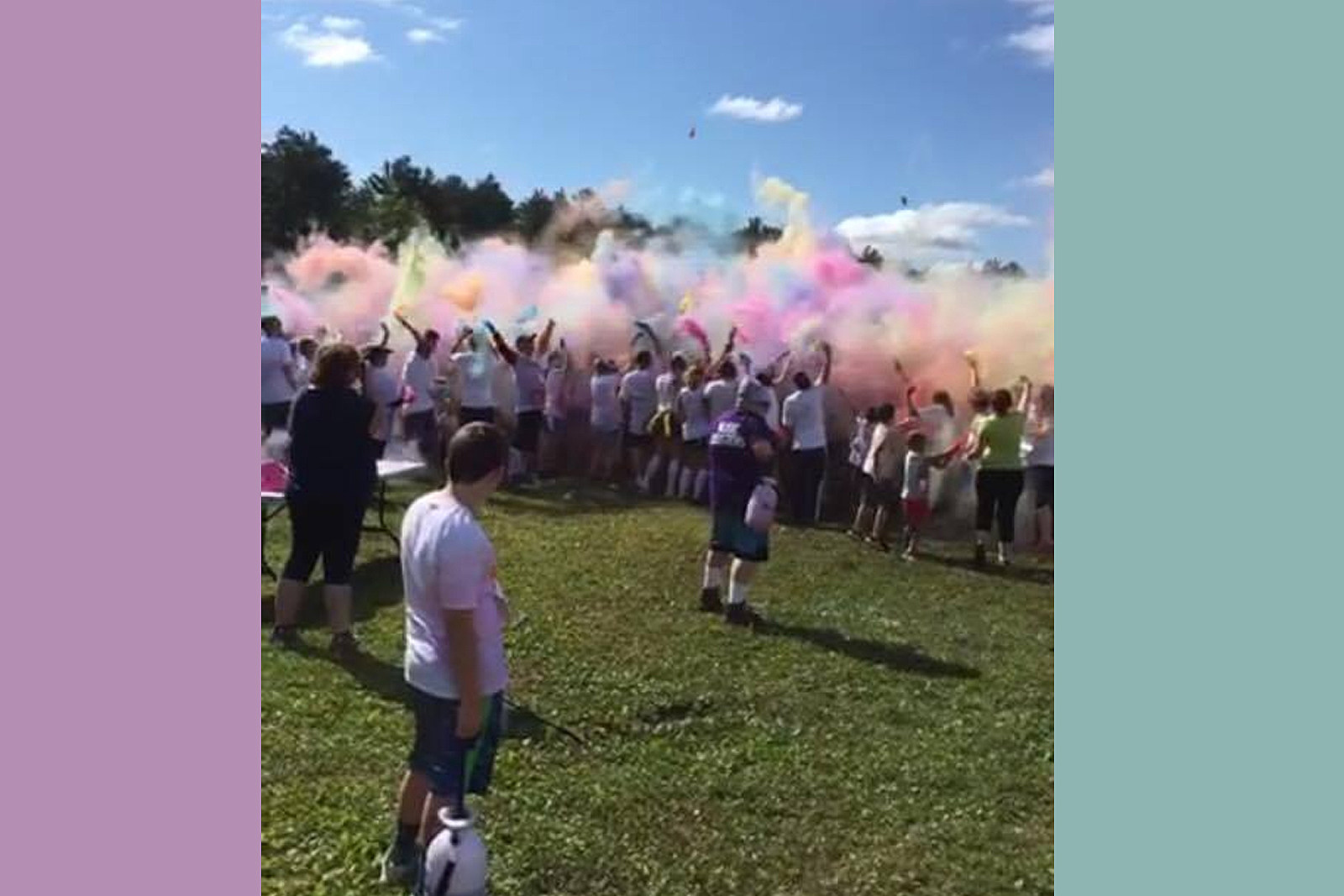 Waterville Music Boosters 5K Color Run Color Celebration